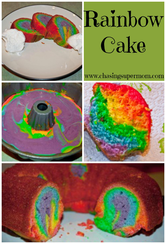 Taste the Rainbow! Rainbow Cakes!