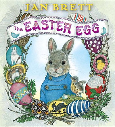 The Easter Egg by Jan Brett Book Review!