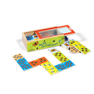 Busy Bug Count and Match Dominoes Review and Giveaway!!