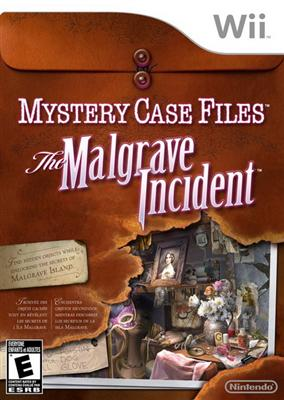 Mystery Case Files: The Malgrave Incident Wii Game Review