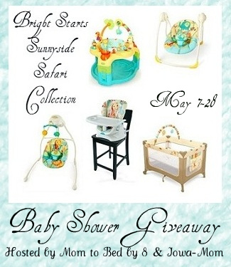 Bright Starts Ultimate Baby Shower Giveaway: Blogger Signup!