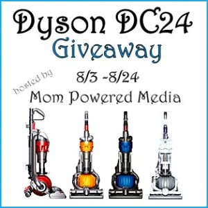 Dyson DC24 Giveaway: Bloggers Wanted