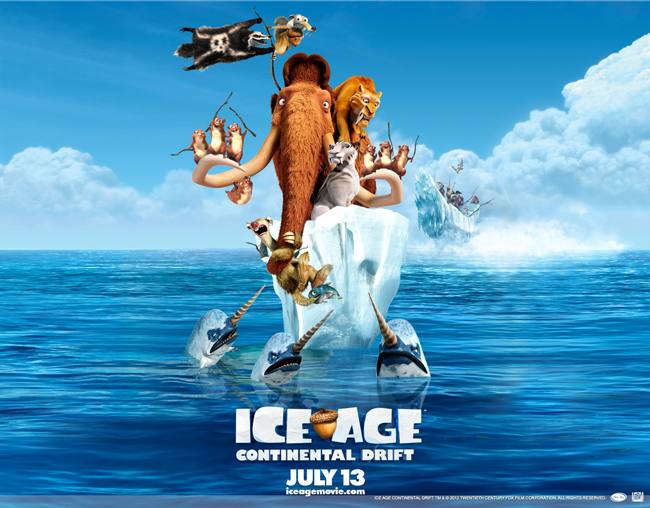 Ice Age 4: Continental Drift Giveaway!!