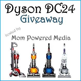 Dyson DC24 Giveaway!