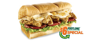 Subway Tuscan Chicken Melt Review and Giveaway