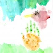 Fall Hand-print Art
