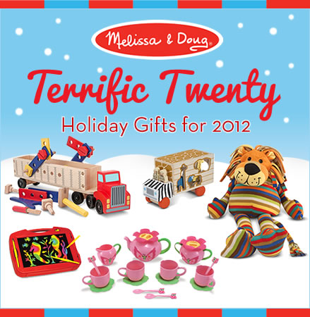 Melissa and Doug Terrific Twenty List and Giveaway