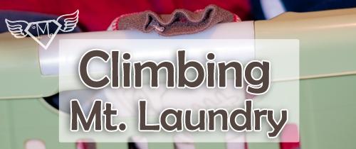 Climbing Mt. Laundry