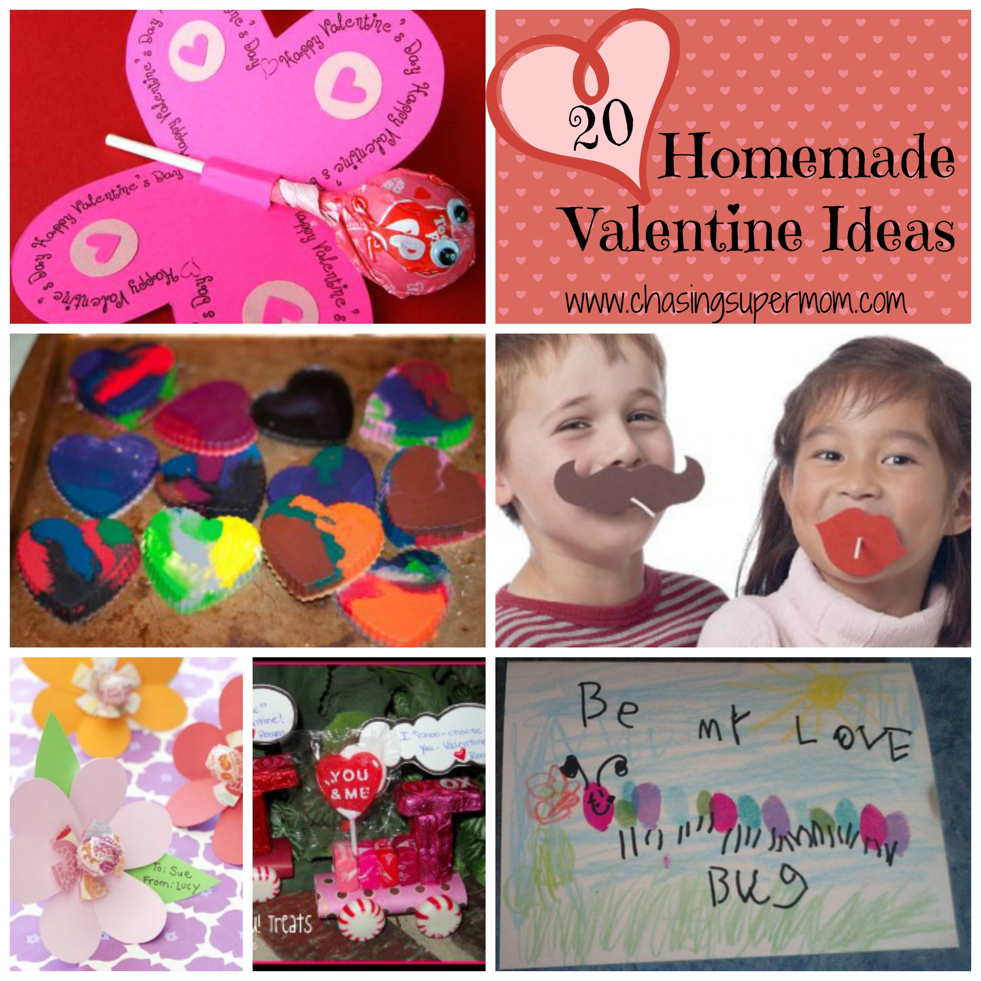 20 Homemade Valentine Ideas