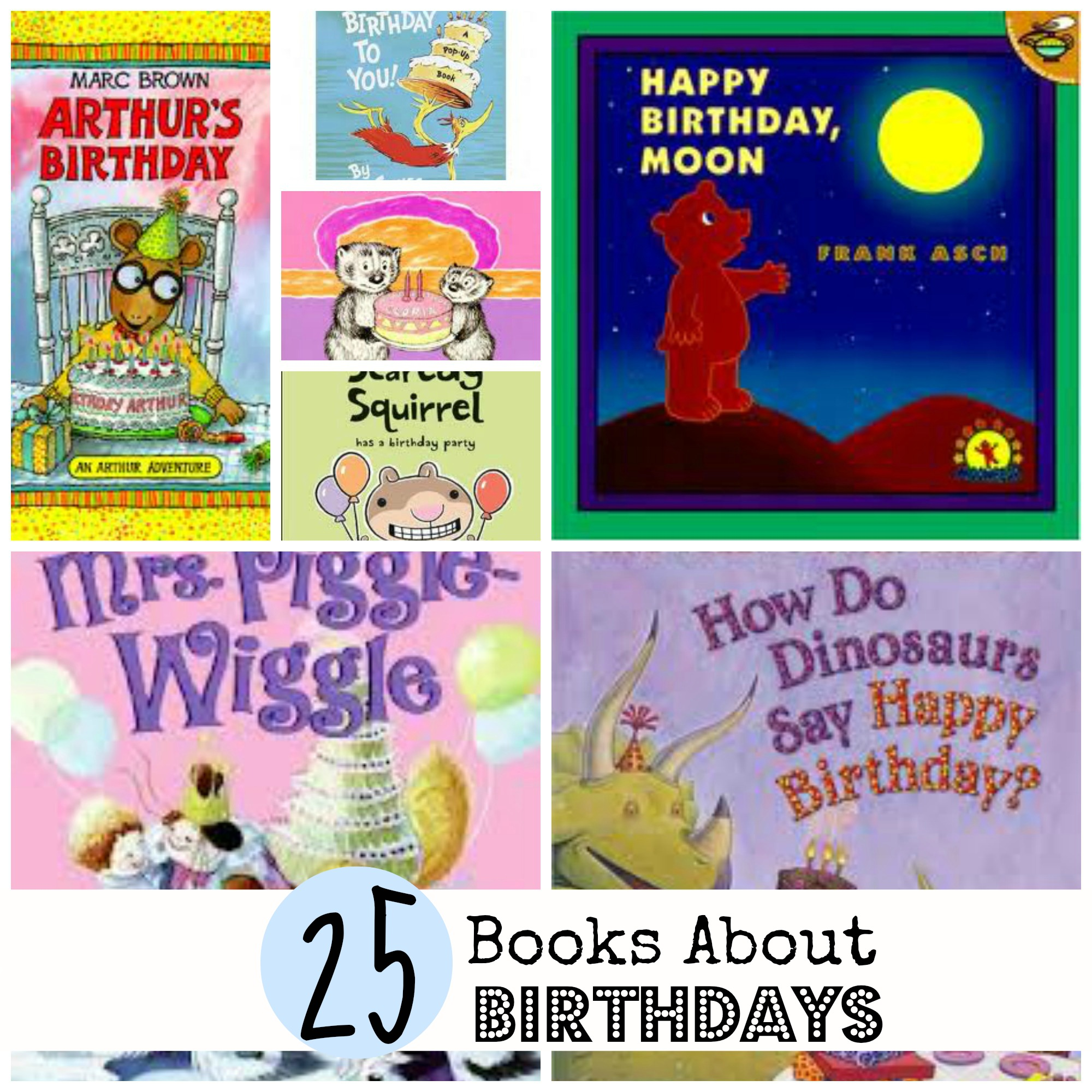 25 Books About Birthdays For Kids
