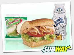 Subway Fresh Fit Giveaway!