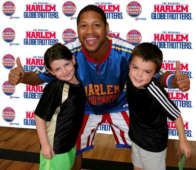 Harlem Globetrotters Basketball Clinics for Kids