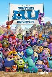 Top Ten Reasons You Should See #MonstersUniversity