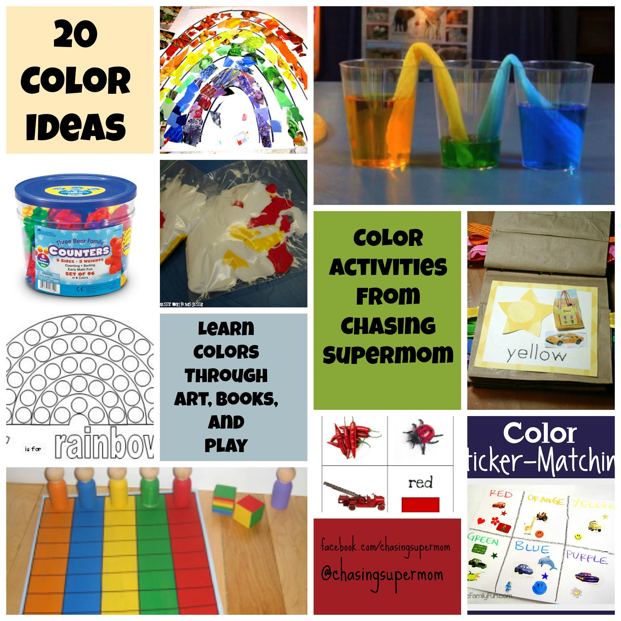 Color Activities for Preschoolers | Chasing Supermom