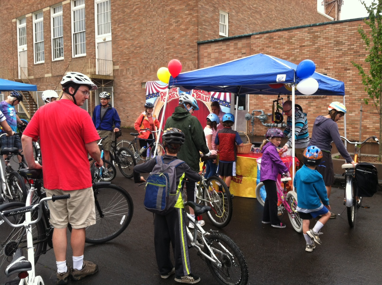 Portland Sunday Parkways and Ringling Brothers Circus!