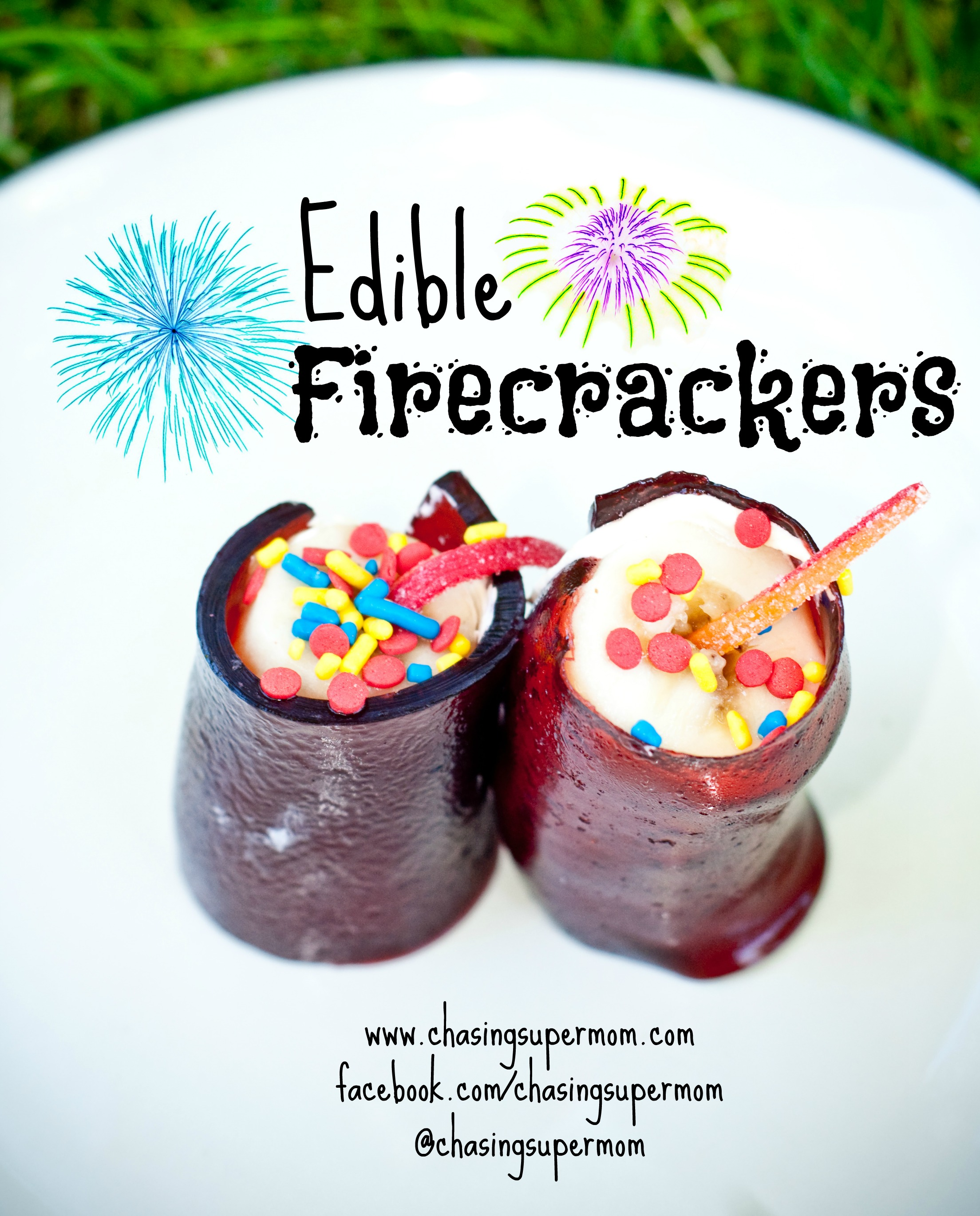 "Edible ""Firecrackers"""