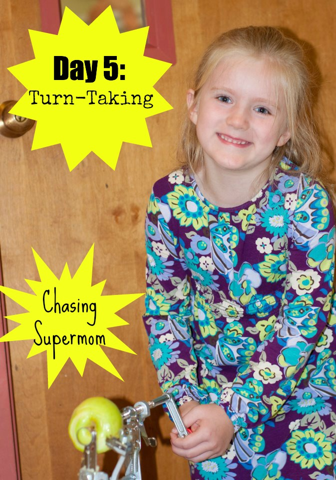 Ready for Kindergarten Day Five: Turn-Taking