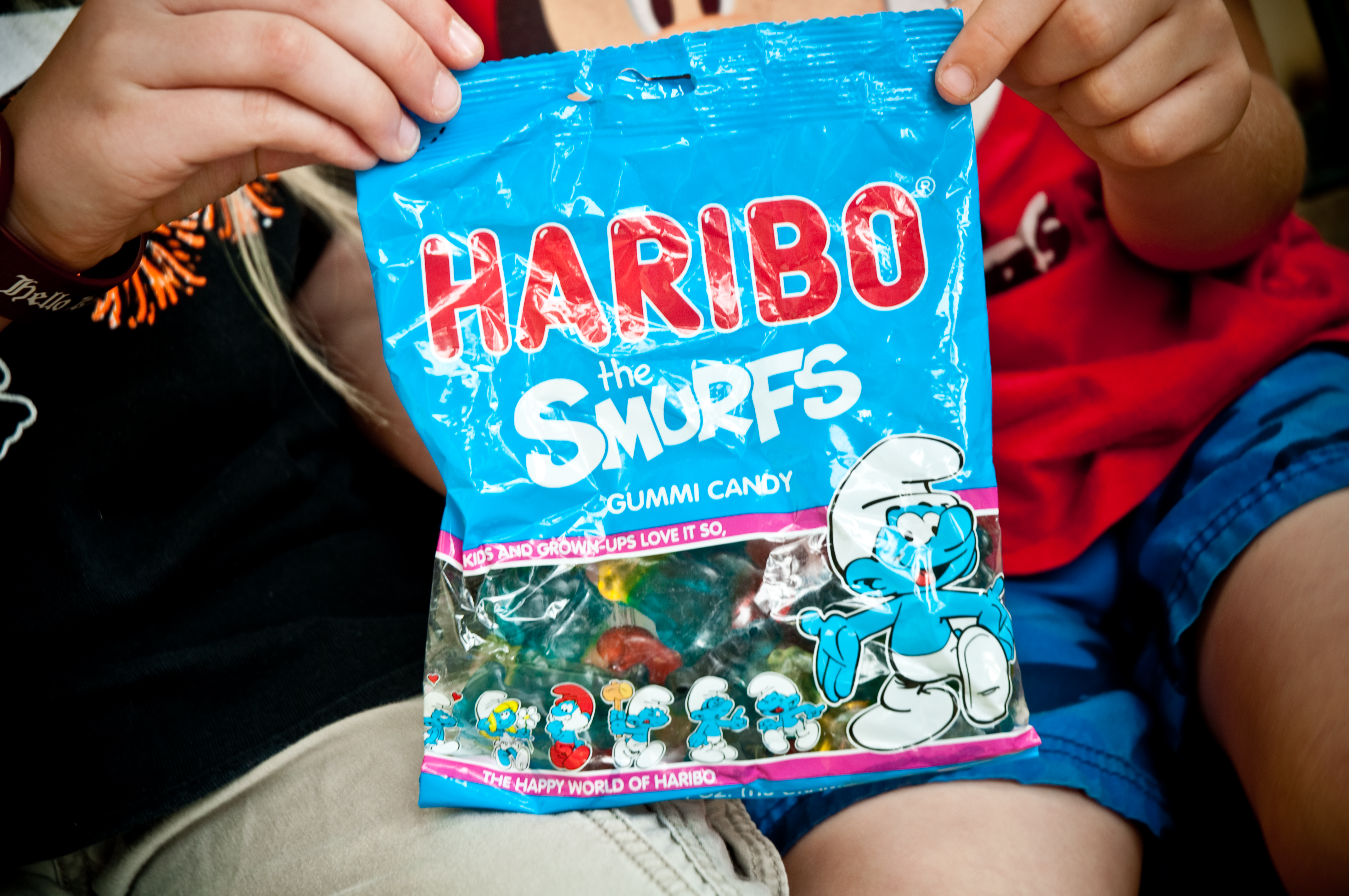Haribo Smurfs Gummies