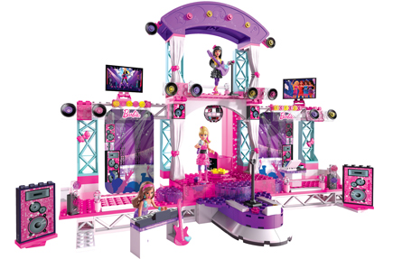 Mega Bloks Barbie® Build 'n Play Super Star Stage