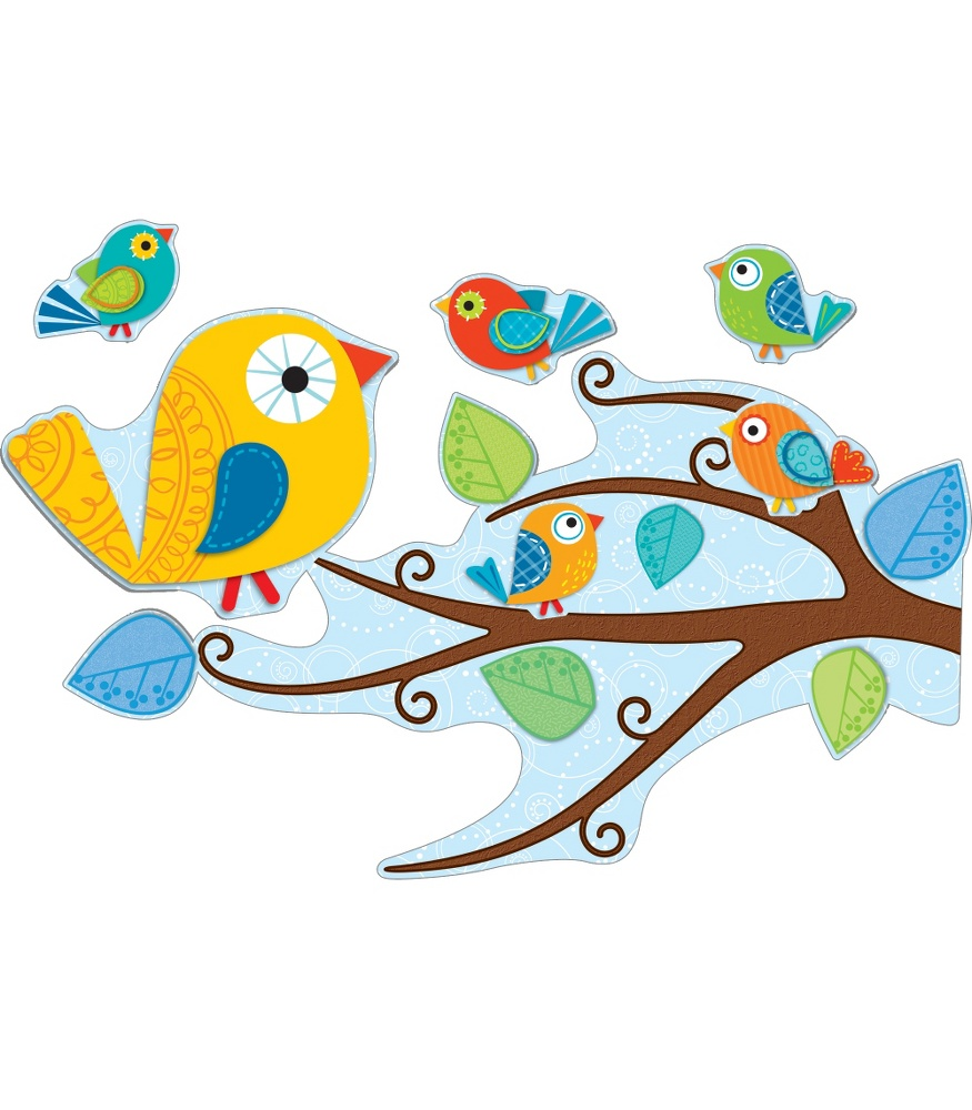 Boho Birds from Cason-Dellosa + A Bulletin Board Set Giveaway