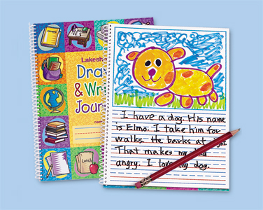Draw & Write Journal from Lakeshore Learning
