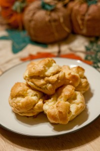 pumpkincream puffs