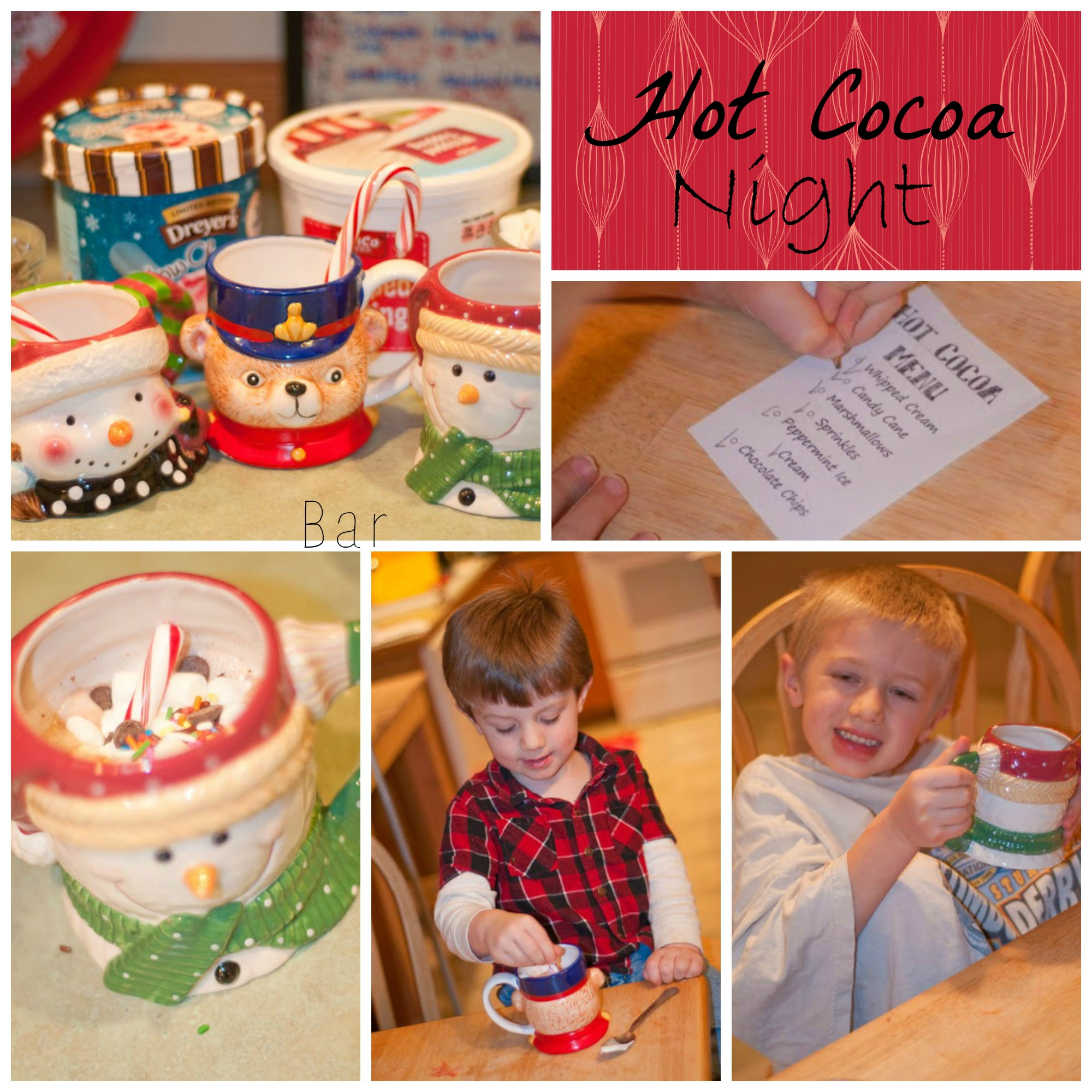 Hot Cocoa Night : Fun Family December Activity