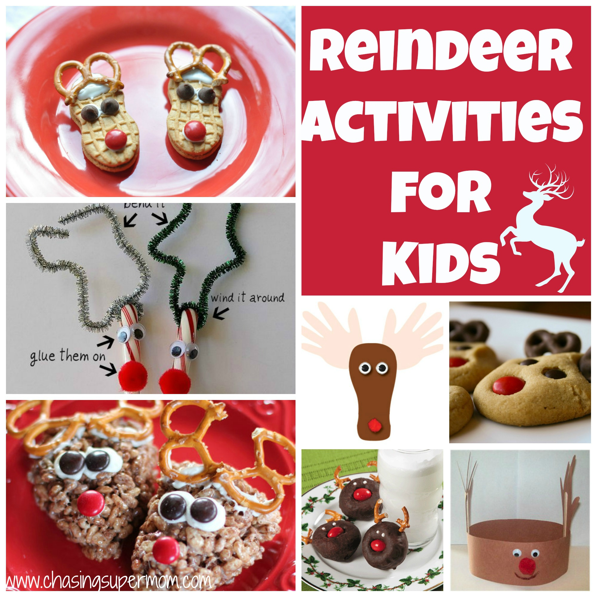 Reindeer Activities For Kids