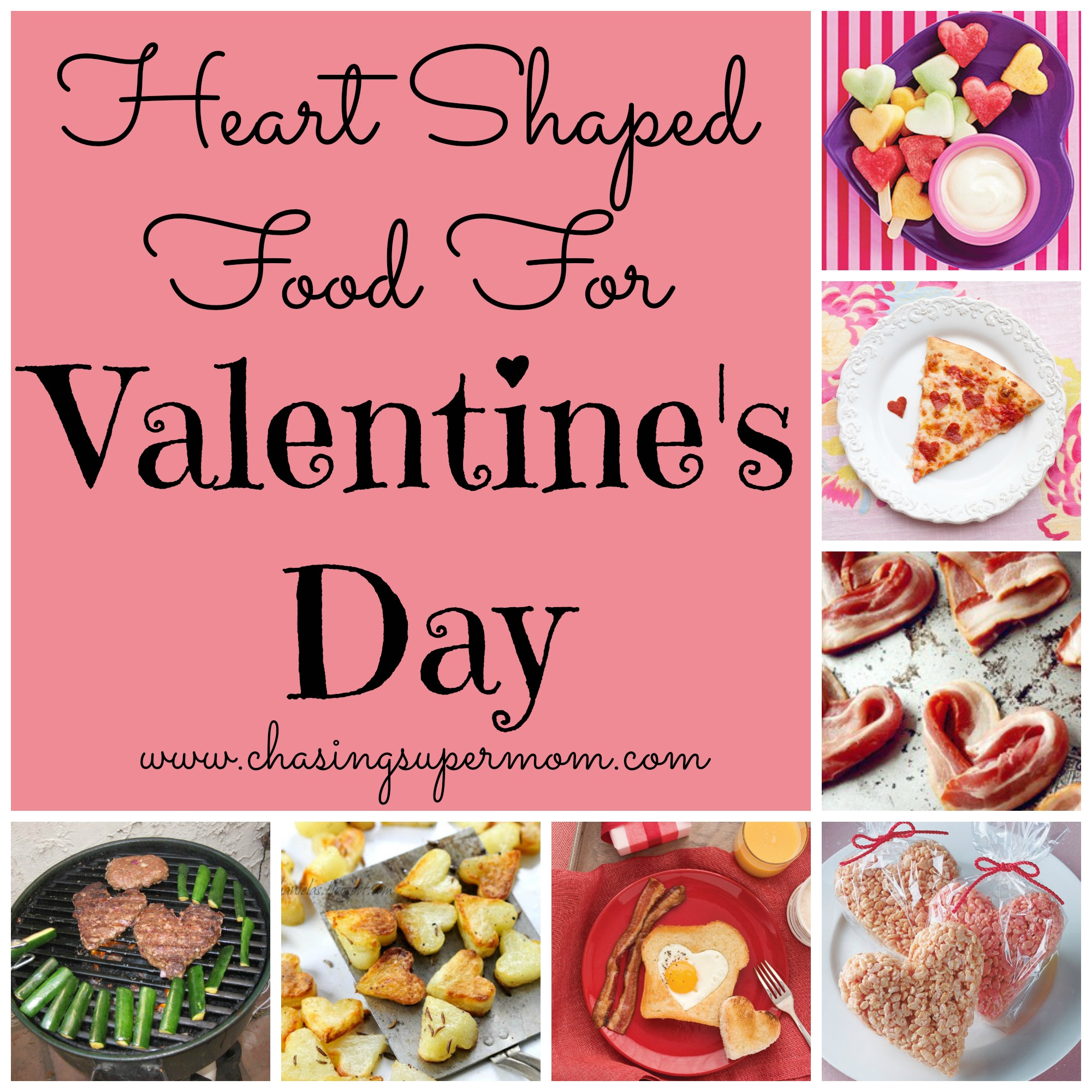 Valentine's Day Food Ideas: Heart-Shaped Food