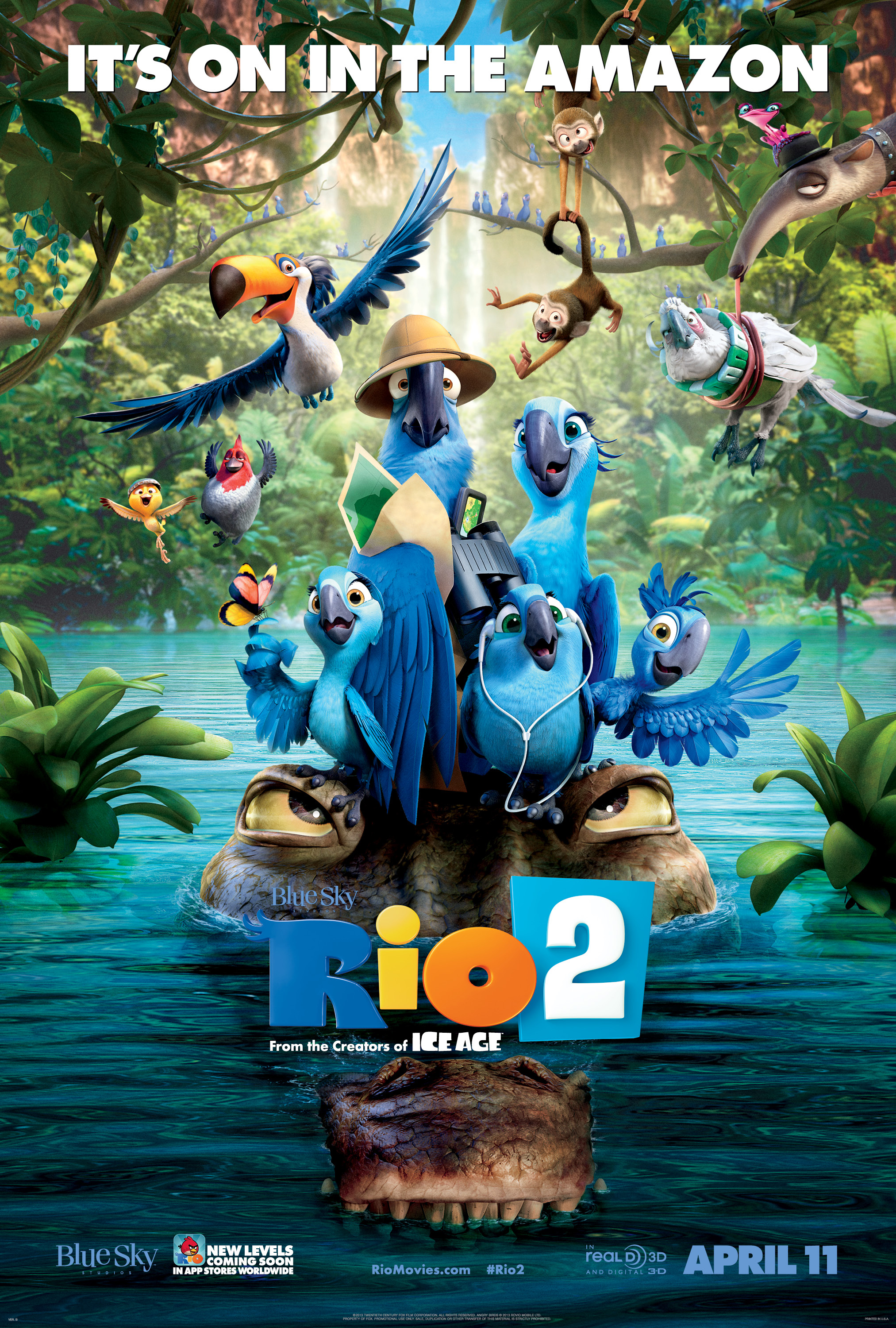 Rio 2 is Coming to Theaters – Rio 2 Clip and Movie Information!