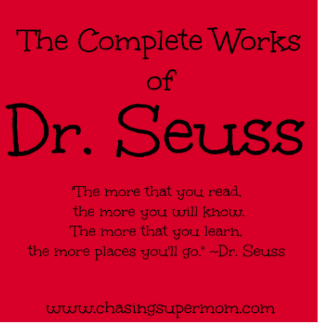 The Complete Works of Dr. Seuss – A List of All of Dr. Seuss's Books for Children