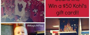 Kohl's New Magic at Play Disney Line! Review and $50 Kohl's Card Giveaway!
