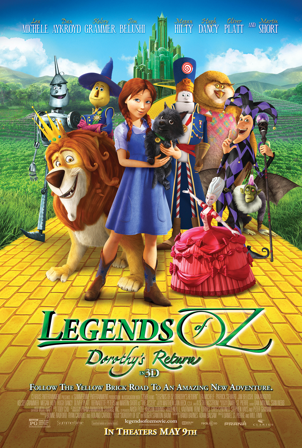Legends of Oz: Dorothy's Return – Giveaway! Win a Visa Gift Card, Oz Shirt, and Posters!