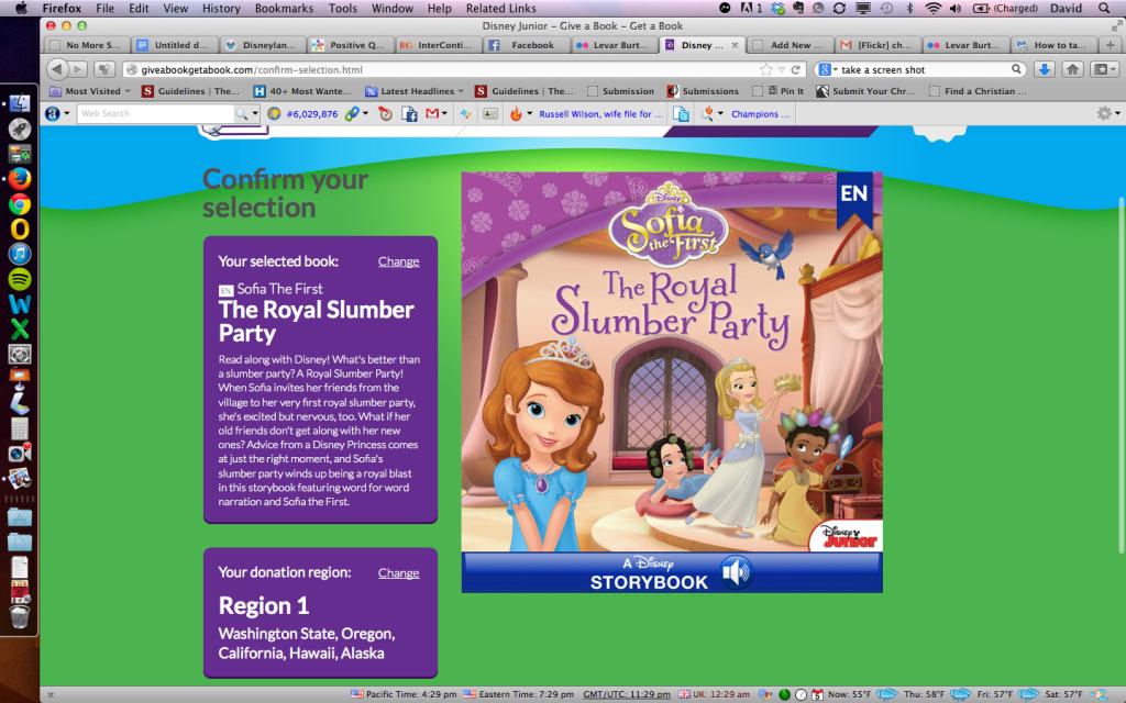 Disney Jr. Give a Book