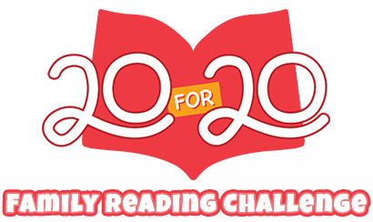 Scholastic's 20 for 20 Family Reading Challenge – #Read20