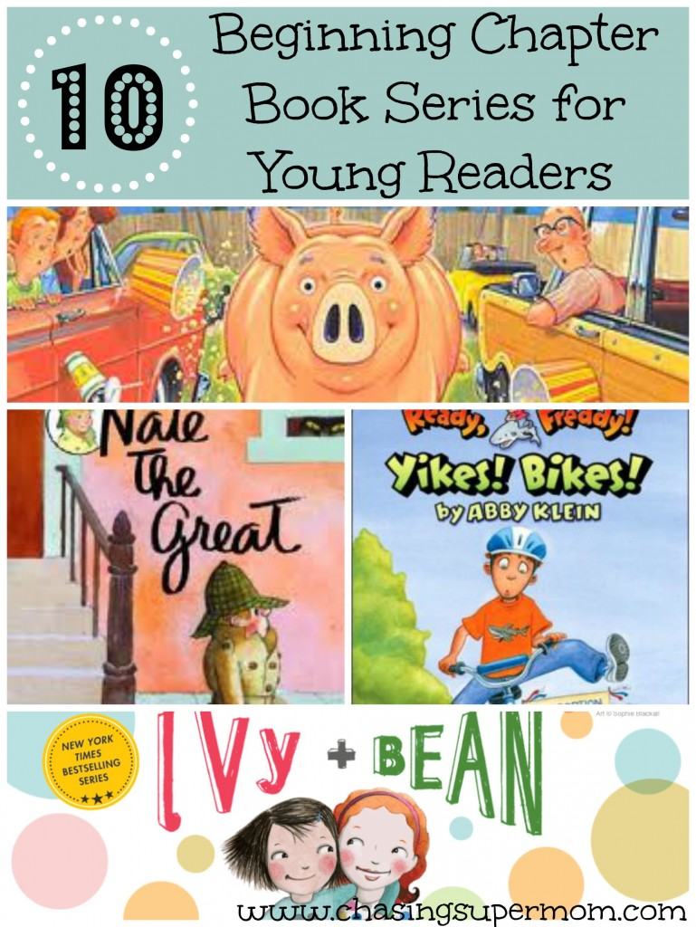 Easy chapter books for kids