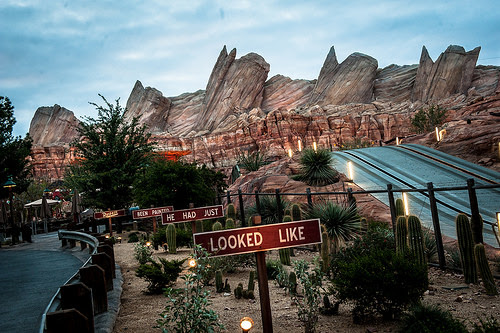 Josh Hallett Cars Land