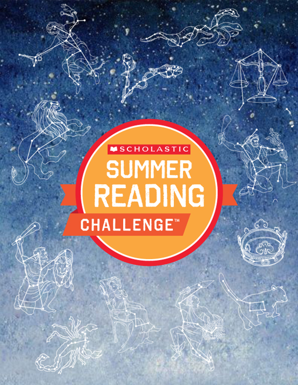 Read Under the Stars with Scholastic's Summer Reading Challenge