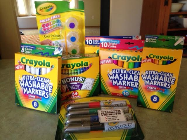 Back to School With Great Products from Crayola