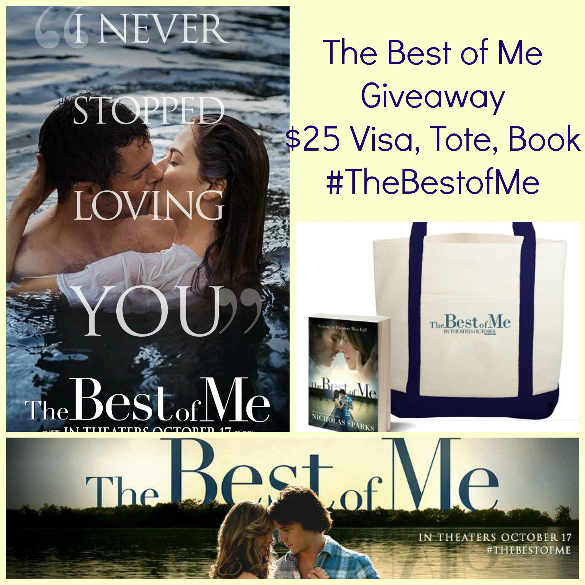 The Best of Me Giveaway – #TheBestofMe