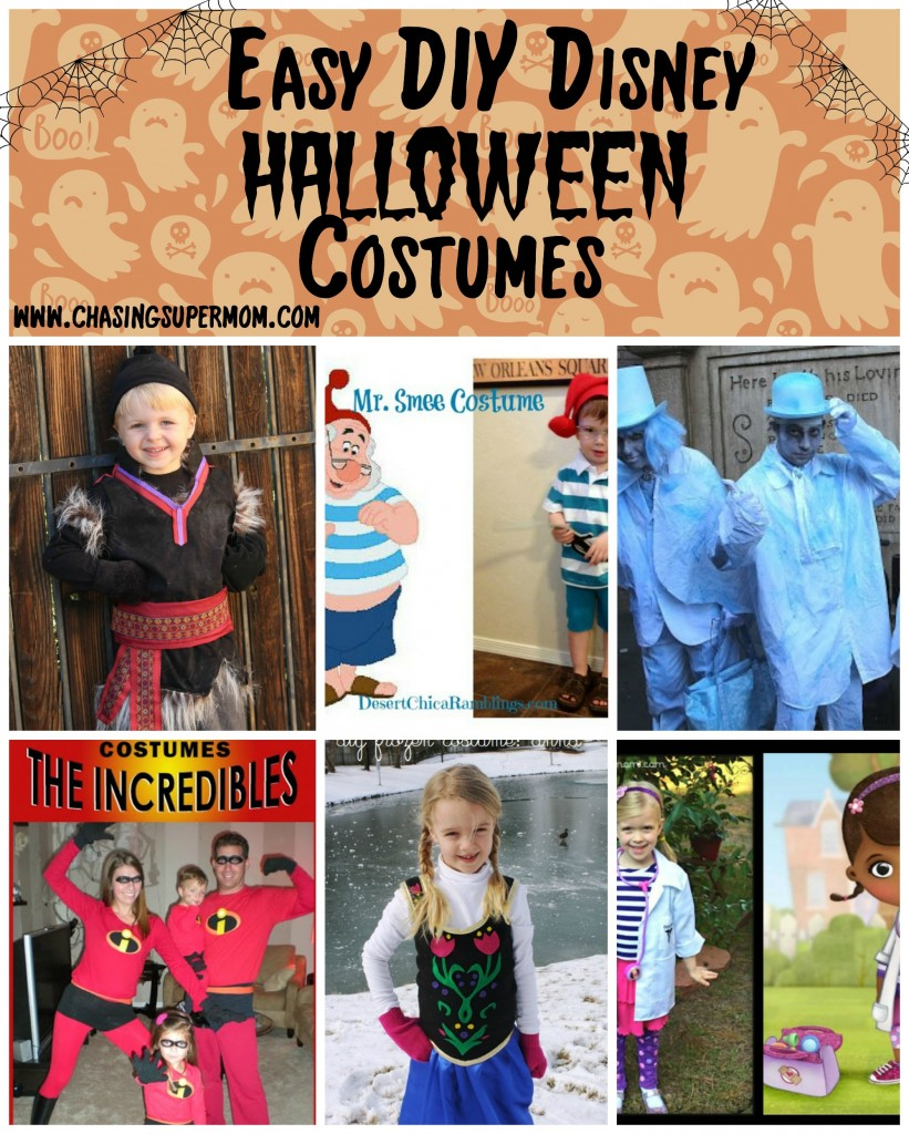 DIY Disney Halloween Costume Round-Up - EASY DIY Disney ...