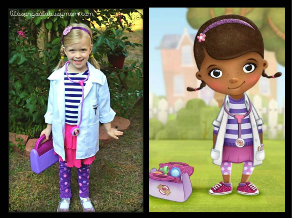 docmcstuffins  sc 1 st  Chasing Supermom & DIY Disney Halloween Costume Round-Up - EASY DIY Disney Costumes ...