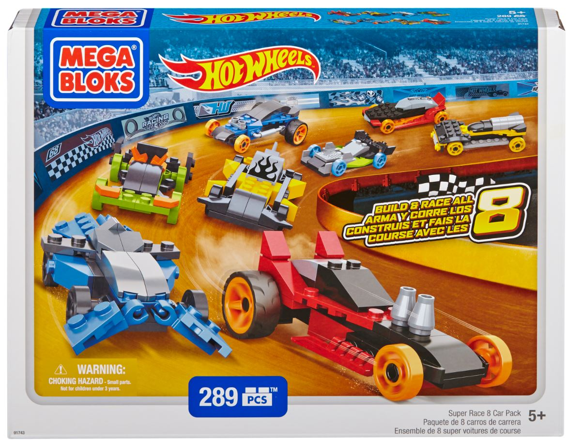 Mega Bloks Hot Wheels Super Race Set – Review & Giveaway