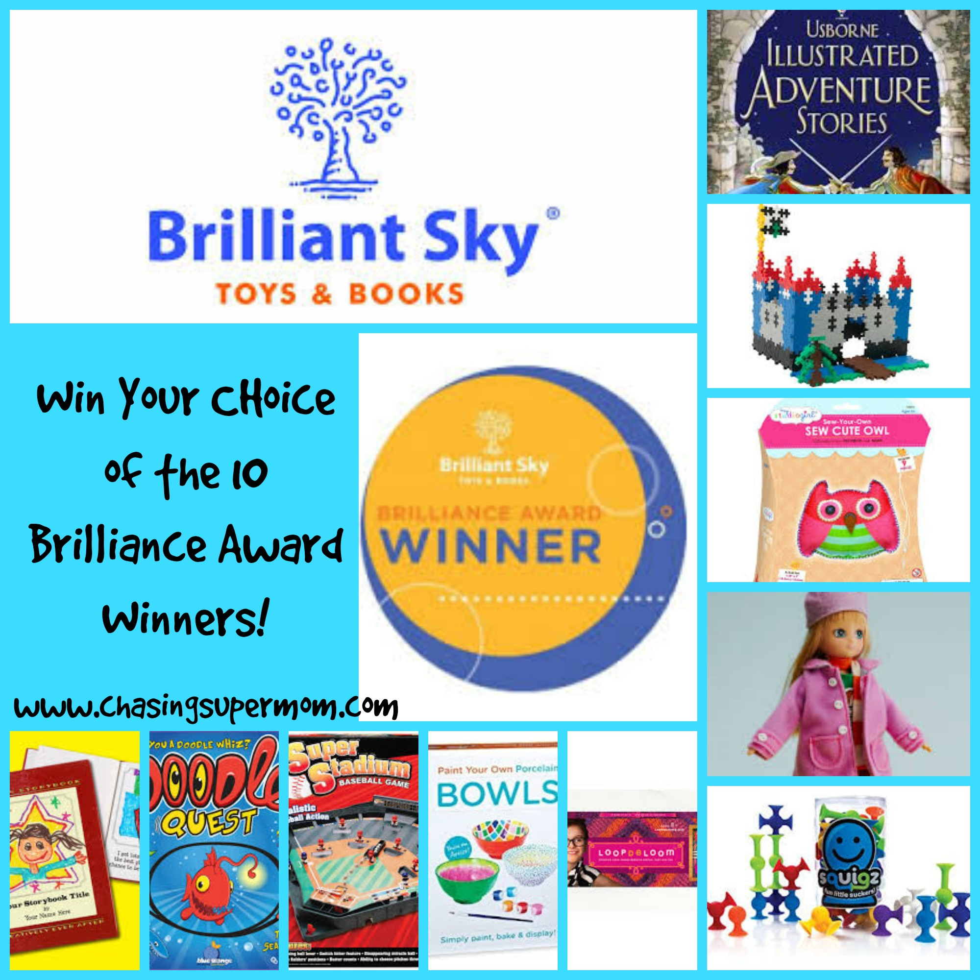 Brilliant Sky Toys & Books – Brilliance Award Winners Toy Giveaway