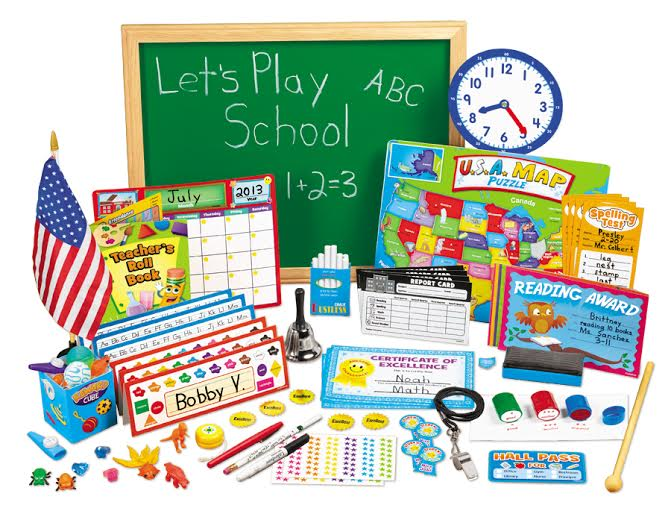 Let's Play School – Pretend Play School Set from Lakeshore Learning