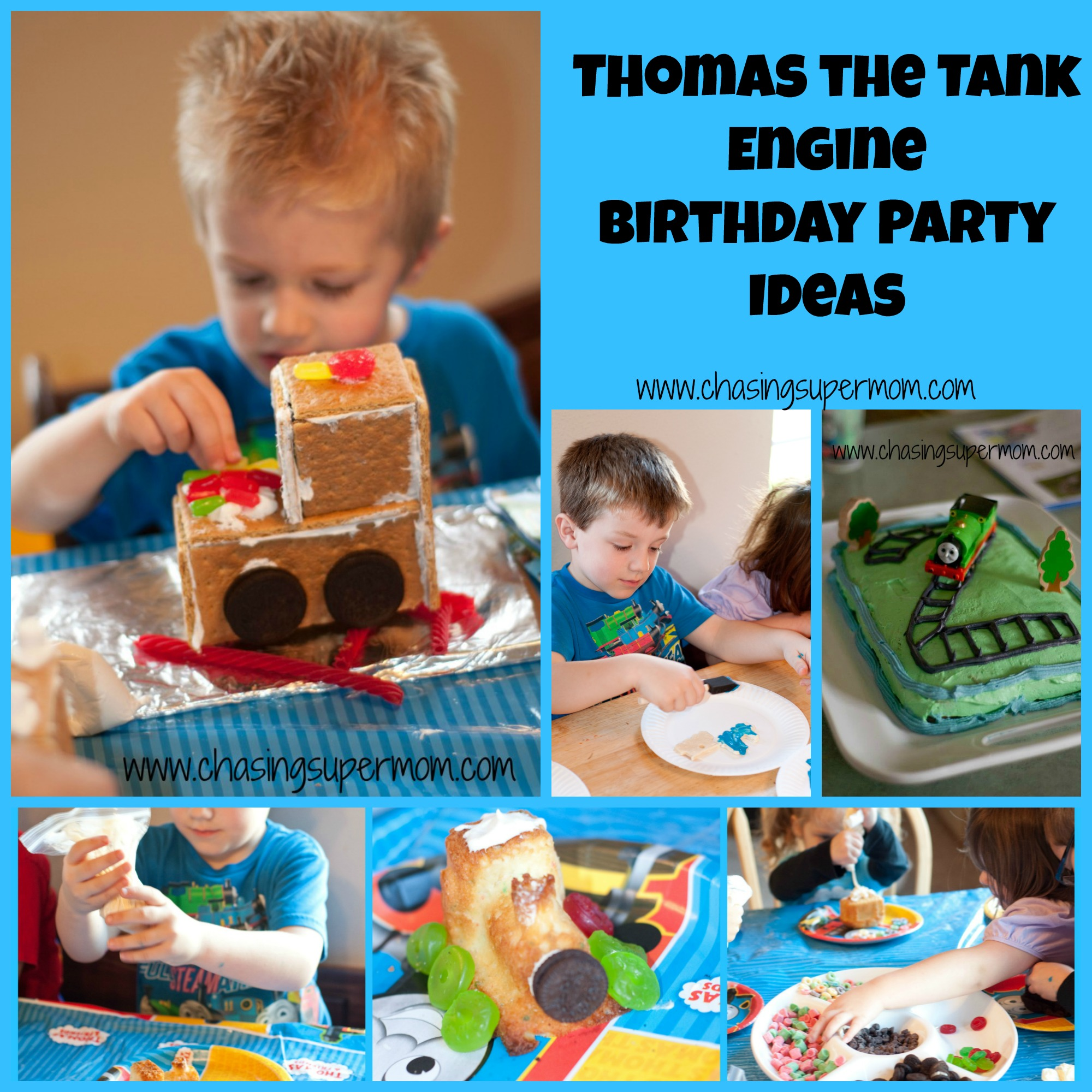 Thomas the Tank Engine Birthday Party : Train Party Ideas
