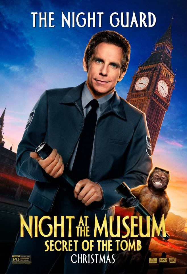 Night at the Museum: Secret of the Tomb GIVEAWAY