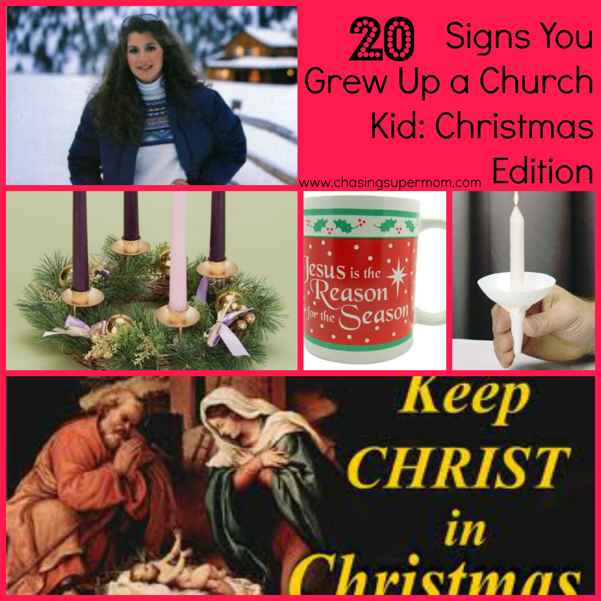 20 Signs You Grew Up a Church Kid – Christmas Edition
