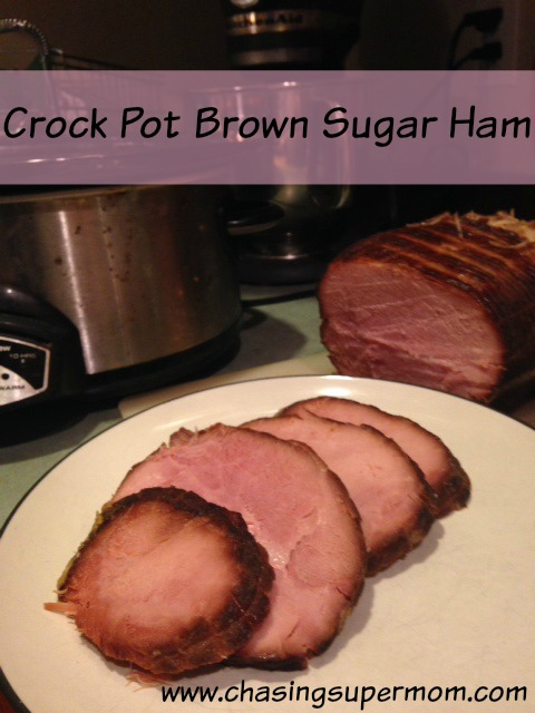 Crock Pot Brown Sugar Ham