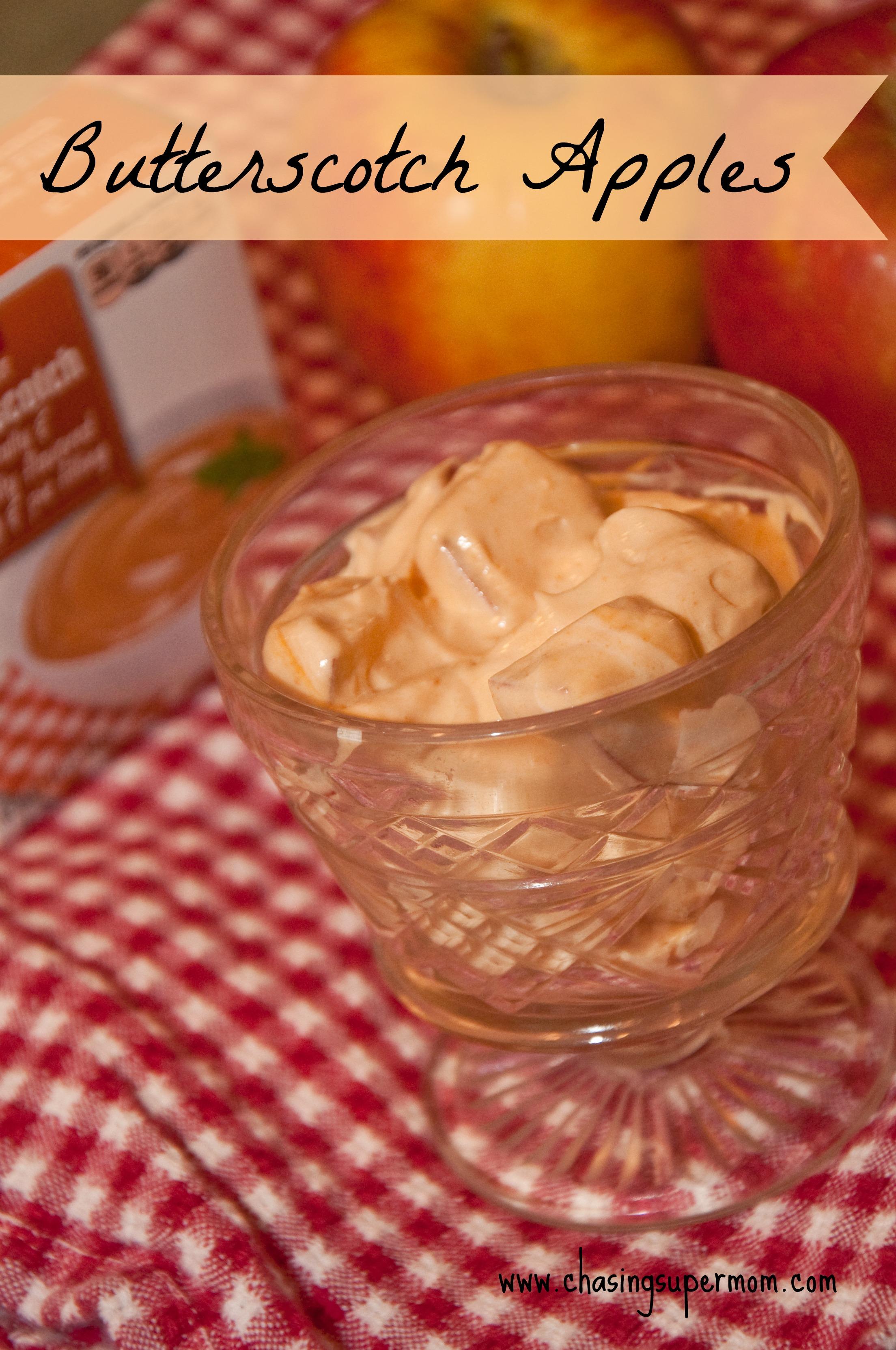 Butterscotch Apples